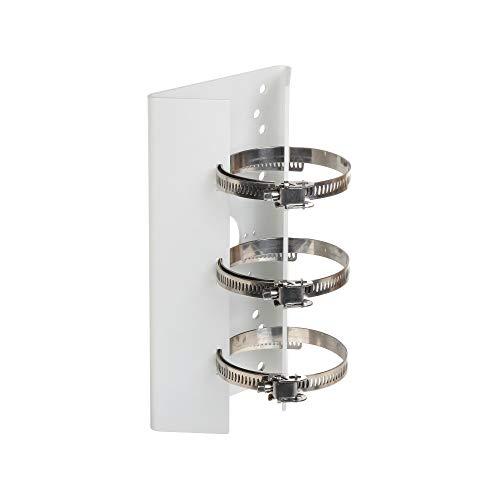 Hikvision Digital Technology DS-1275ZJ cámaras de seguridad y montaje para vivienda Monte - Accesorio para cámara de seguridad (Monte, Exterior, Plata, DS-2CE15xxP(N)-VFIR3, DS-2CC11xxP(N)-VFIR, DS-2CD82xxF(WD)-EI(Z)(S), DS-2CD42xxF(WD)-I(Z)(S),..., Aluminio, 127 mm)