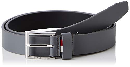 Tommy Hilfiger Herren FORMAL Belt 3.0 Gürtel, Grau (Smoked Pearl 072), 676 (Herstellergröße: 100)