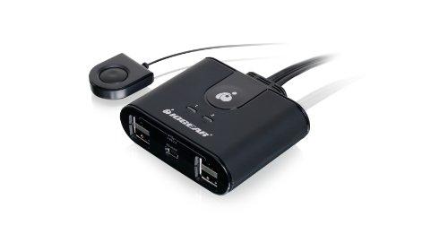 IOGEAR 2x4 USB 2.0 Peripheral Sharing Switch, GUS402