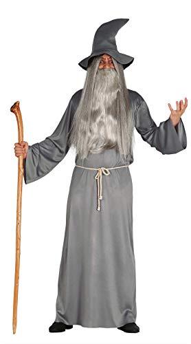 FIESTAS GUIRCA Disfraz Hombre Mago Brujo Medieval Talla l