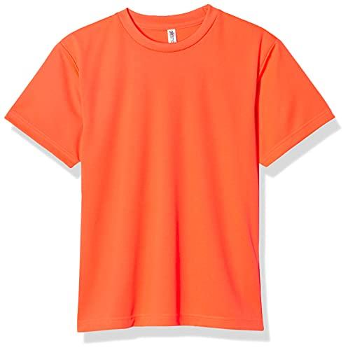 Glimmer 00300-ACT Short Sleeve 4.4 oz Dry T-Shirt (Crew Neck) - Short Sleeve neon-orange