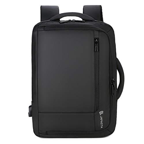 JAPASTA ビジネスリュック メンズ リュック バックパック タウンリュック 旅行バッグ パソコンリュック おしゃれ 出張用 通勤用 人気 鞄 ジムリュック 大容量 3way USB 充電ポートA4 通学 通勤