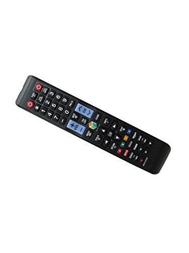 General Replacement Remote Control Fit for Samsung UN55KU6500FXZA UN65KU6500FXZA UN55F7050A UN40JU650DFXZA UN50JU650DFXZA Smart 3D LCD LED HDTV TV