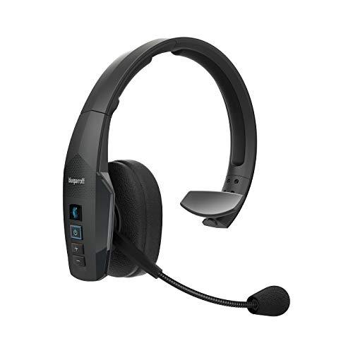 Jabra BlueParrott B450-XT Mono Bluetooth Over-Ear Headset – 96 % Noise-Cancelling mit Sprachsteuerung für unterwegs und in lärmintensiver Umgebung – Schwarz