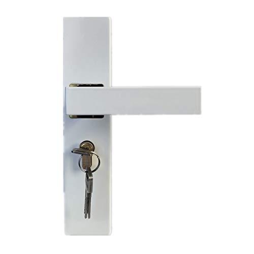 ZLDCTG 1 Unids Igory Blanco Dormitorio Dormitorio Cerraduras Boutique Minimalista Silent Puerta Cerraduras De Manija Izquierda Y Derecha Envío Abierto