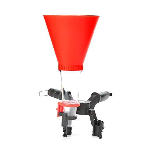 ZHAOXX Embudo De Aceite De Motor De Coche Universal a Prueba De Derrames Embudo De Cebado Ajustable Kit De Equipo De Llenado De Aceite De Plástico con Filtro para Automoción Red