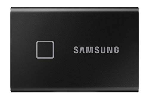 Samsung T7 Touch Portable SSD - USB 3.2 Gen.2 SSD Externo Negro metálico 1 TB