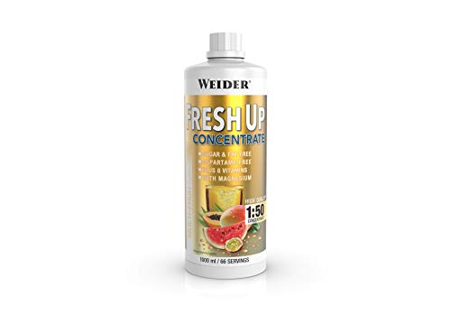 Weider Fresh Up Getränkekonzentrat, Multifrucht, zuckerfrei mit Vitaminen und Mineralstoffen, 1 Liter