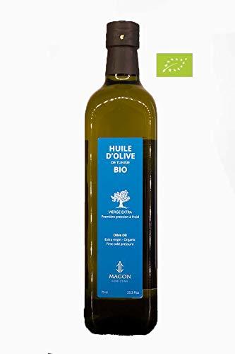 Huile d olive BIO Vierge Extra Première pression à Froid 75cl