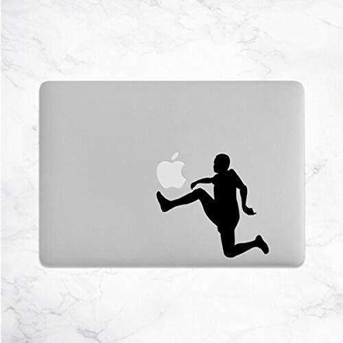 myrockshirt Fußball MacBook Aufkleber Laptop Notebook Funny Lustig Aufkleber,Sticker,Decal,Autoaufkleber,UV&Waschanlagenfest,Profi-Qualität,Wandtattoo