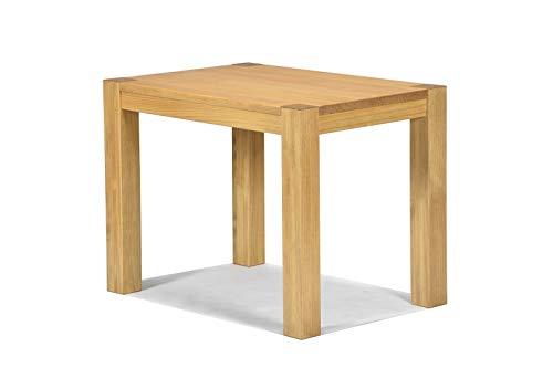 Naturholzmöbel Seidel Esstisch Küchentisch Rio Bonito 100x70cm, Pinie Massivholz, geölt und gewachst, Tisch Farbton Honig hell, Optional erhältlich: passende Bänke