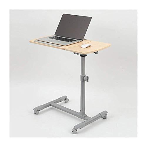 Days Overbed Table, höhenverstellbarer Laptop-Tisch, Mobile Computer Stand Desk (Farbe: Schwarz)