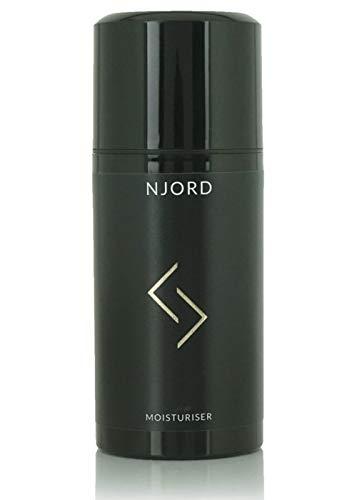 NJORD Moisturizer, Crema Hidratante Facial Hombre de Uso Diario; Loción Facial Antienvejecimiento...