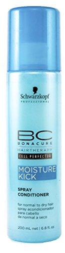 Schwarzkopf 10390 BC Moisture Kick Spray Conditioner, 200 ml, 1er Pack, (1x 0,2 L)