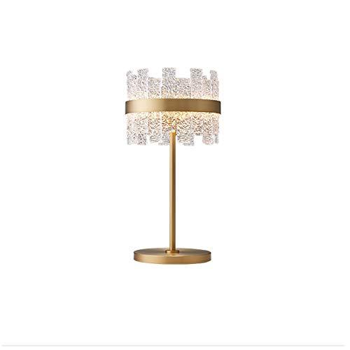 Lampara Mesilla Lámparas Modernas delanteras Murients de noche Cristal de la noche Lámpara de mesa, 23.6 'Lámpara de escritorio decorativa de alta ronda Iluminación nocturna para sala de estar Dormito