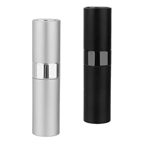 Sharplace 2x 8ml Voyage Portable Mini Flacon Rechargeable Atomiseur de Parfum Vide