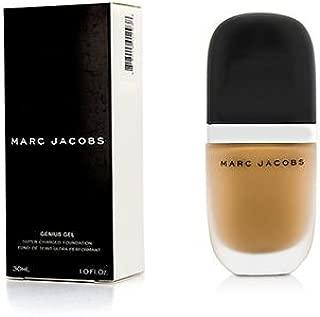 Marc Jacobs Beauty Genius Gel Super-Charged Foundation 34 Beige Medium 1.0 oz, (BNIB)