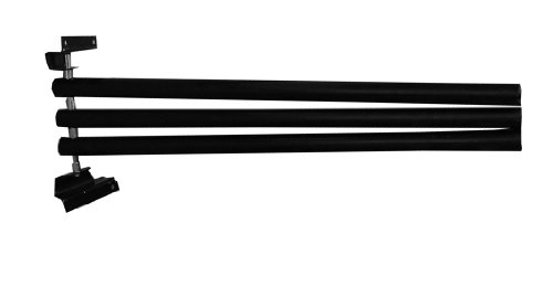 Amesbichler Reitsport AMKA Deckenhalter zum Klappen 3 armig schwarz Deckenhalterung mit 3 Armen schwenkbar