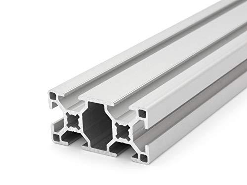 Aluminiumprofil 30x60 B-Typ Nut 8 - Zuschnitt 50mm-2000mm (16,50 EUR/m + 0,40 EUR pro Schnitt, min. 2,50 EUR) 1000mm