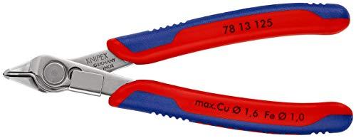 KNIPEX Electronic Super Knips (125 mm) 78 13 125 SB (cartulina autoservicio/blíster)