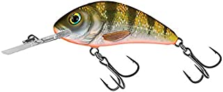 Salmo Rattlin Hornet 3.5 Floating, Yellow Holographic Perch