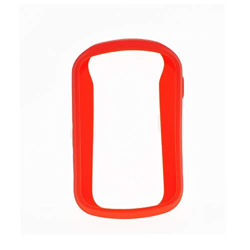 Funda protectora Durable Anti arañazos Senderismo Portátil mano GPS Navegador Accesorios para la piel Cubierta antideslizante al aire libre Silicona para Garmin ETrex Touch 35(Rojo)