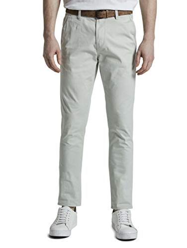 TOM TAILOR Denim Herren Slim Chino Hose, 21766-breeze of Mint, 32W / 32L
