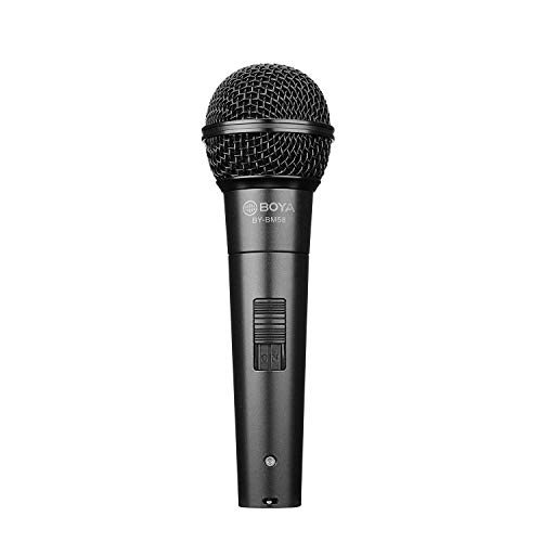 BOYA Cardioid Dynamic Vocal Handheld Microfoon XLR 3-Pin Connector voor Stage Theater Meeting