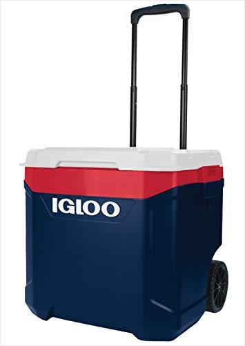 【Amazon.co.jp 限定】igloo(イグルー) キャスター付きクーラーボックス ラティチュード60Qtローラー 34430