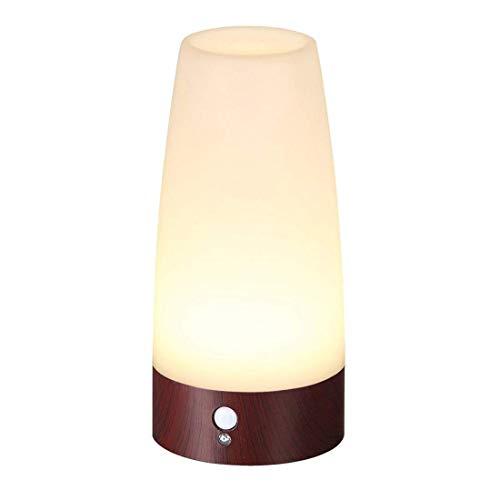 Itian Inalámbrico de Movimiento PIR Sensor Inteligente Noche de LED Luz con Pilas de la Lámpara de Mesa