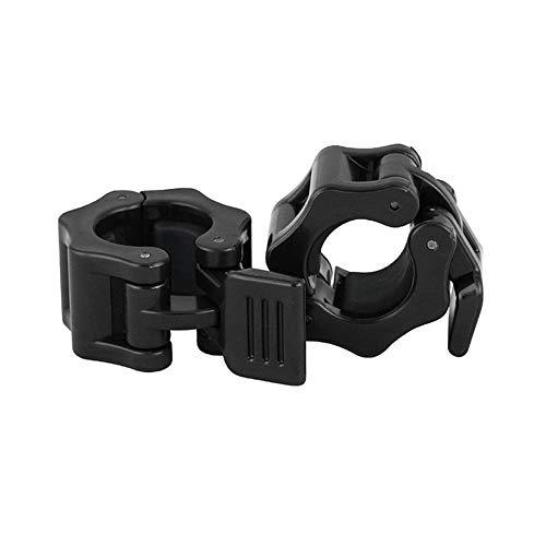 N / A 5 Paar Kurzhantel-Verriegelungsclips, 1-Zoll-Schnellverschluss-Langhantel-Verriegelungsclip, Mini Fitness Standard-Verschlusskragenclip zum Trainieren des Gewichthebens