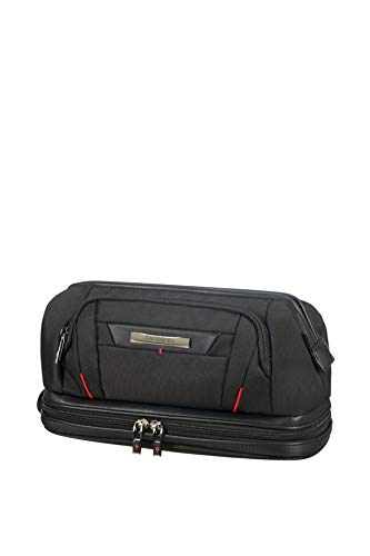 SAMSONITE Pro-DLX5 Cosmetic Cases - Large Opening Toilettas, 28 cm, Black