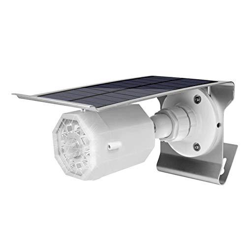 Popertr Solar-Simulations-Kamera-LED-Wand-Licht im Freien Wasserdichten und staubdichte Sonnenlichtkörpern Induction Hof Korridor Aisle Lighting Wandleuchte