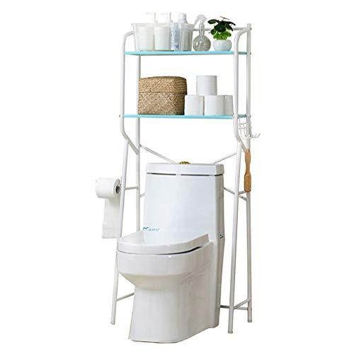 R Vorm Vrijstaande Badkamer Toilet Planken Over Toilet Opslagruimte Opslagruimte Opslaan 2 Tiers Toilet Plank met Verstelbare Schroef Voet Pad hgjhgjfgdfsdfsd