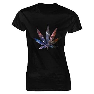 Damen Marijuana Weed Leaf
