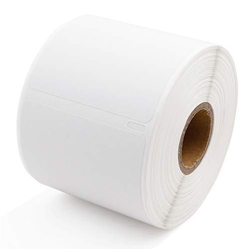Label KINGDOM Compatible Paper Roll Replacement for Dymo 30256 Standard Large Shipping Labels 2-5/16'' x 4'' LW White Labels for LabelWriter 450 Twin Turbo Duo (59 mm x 102 mm, 300/Roll, 1 Roll)