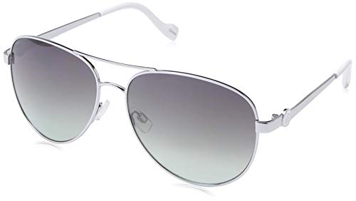 Jessica Simpson Women's J5596 Iconic Metal UV Protective Aviator Sunglasses | Wear All-Year | Glam Gifts for Women, 60 mm