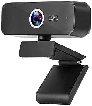 Zuodun 1080P HD Plug Webcam with Built-in Microphone