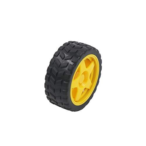 SFUO TT-Motor Smart Car-Roboter-Gangmotor und -Rad für Arduino-DIY-Kit Smart Car/Roboter-Auto (Color : Wheel)