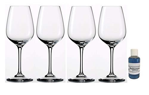Dekomiro Eisch Superior Sensis Plus Witte wijnglazen 500/3 set van 4 met 50 ml afwasmiddel