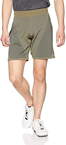 adidas 4Krft 360 Primeknit Flow 8-Inch Pantalón Corto, Hombre, Verde (Raw Khaki), L