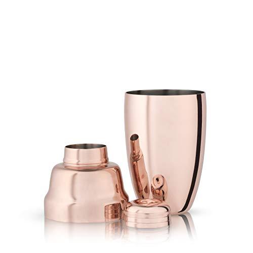 Viski True Fabrication Summit-Copper Heavyweight Cocktail Shaker
