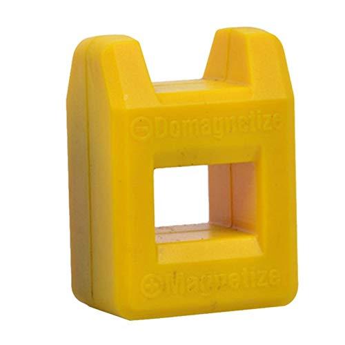 Lixiaonmkop Magnetisierer Demagnetizer-Werkzeug isoliert Schraubendreher Magnetic Pick Up Werkzeug Schraubendreher Schnellmagnetische Abgassinstrumente Neue (Color : Yellow)
