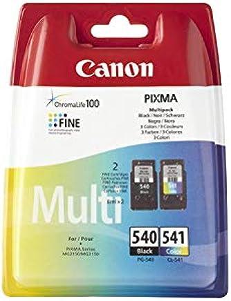 Canon PG-540/CL-541 Cartouches Multipack Noire + Couleur