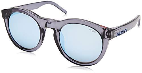 Hugo Boss Sonnenbrillen (HG-1071-S PJP3J) blau kristall - grau-braun - silber verspiegelt