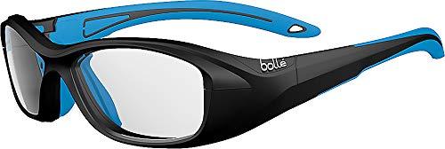 bollé Swag Gafas, Unisex niños, Negro/Azul (eléctrico), S