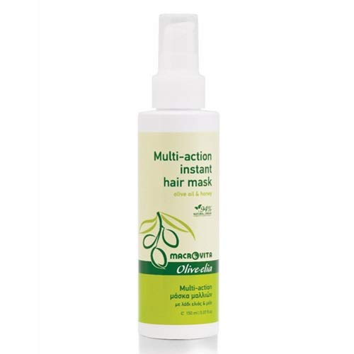OLIVELIA Masque pour cheveux à l'huile d'olive et miel 150 ml.
