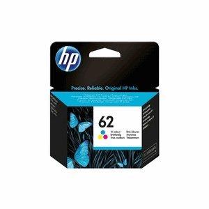 Cartucho de tinta HP C2P06AE nº 62 tricolor (aprox. 165 páginas)