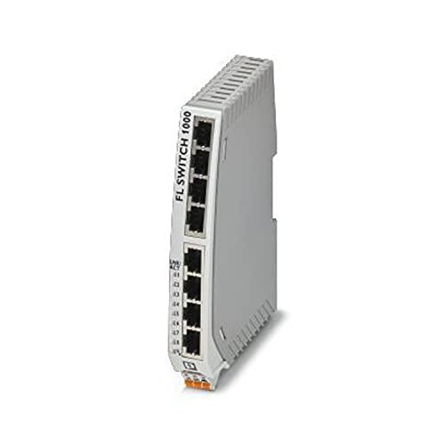 PHOENIX CONTACT FL SWITCH 1108N - Conmutador Ethernet (8 puertos RJ45 con 10/100/1000 Mbit/s en todos los puertos)