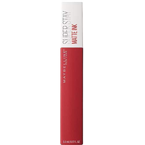 Maybelline New York Super Stay Matte Ink Lippenstift - flüssiger Lippenstift, bis zu 16 Stunden...